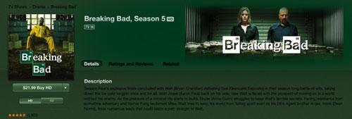 breaking bad apple Un fan de Breaking Bad porte plainte contre Apple
