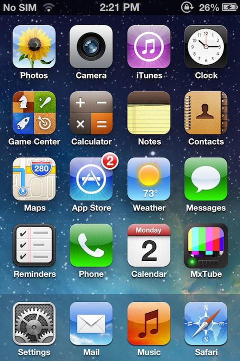 copydock1 Cydia : CopyDock, installez un dock façon iOS 7