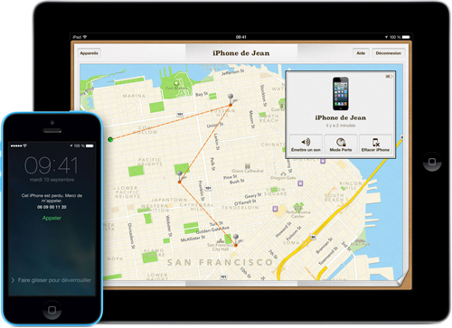 find hero Cydia : FindMyDevice, un addon pour lapplication Localiser mon iPhone