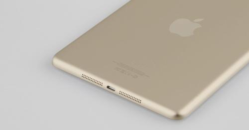 gold ipad mini 2 2 Un iPad Mini 2 couleur champagne avec Touch ID intégré ?