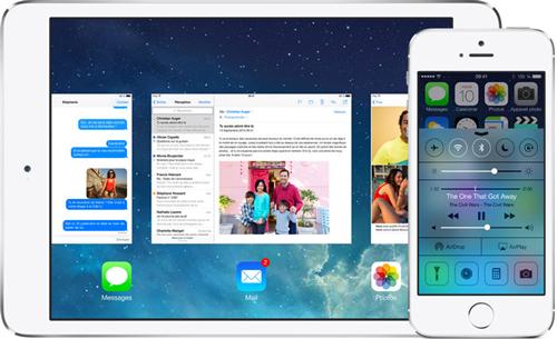 iOS7 Le bilan du keynote : iPhone 5S/5C et iOS 7