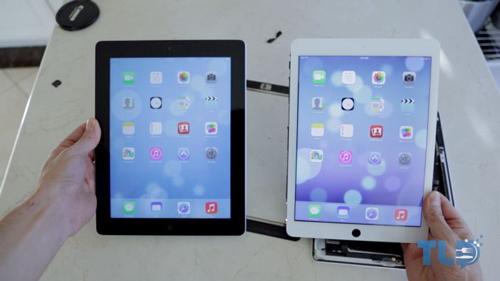 iPad 5 vs iPad 4 Une vidéo compare liPad 4 avec liPad 5