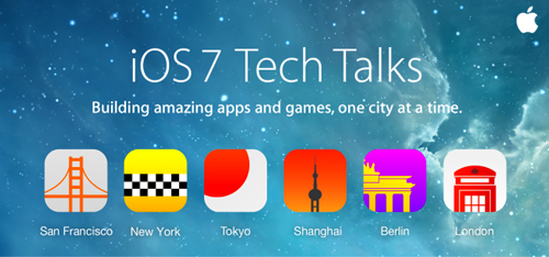 ios 7 tech talks Apple propose des sessions dapprentissage pour iOS 7