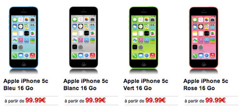 virgin mobile iphone 5c mobile propose l iphone 5c 224 partir de 99 99 16421
