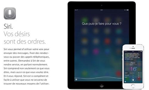 siri Siri pour iOS 7 nest plus en version beta