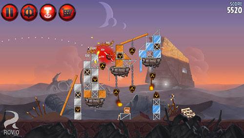 star Angry Birds Star Wars 2 est disponible sur lApp Store