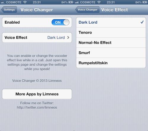 voicechanger Les mises à jour Cydia de la semaine 36