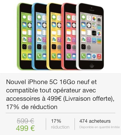 IMG 1971 LiPhone 5C à 499€ sur Groupon