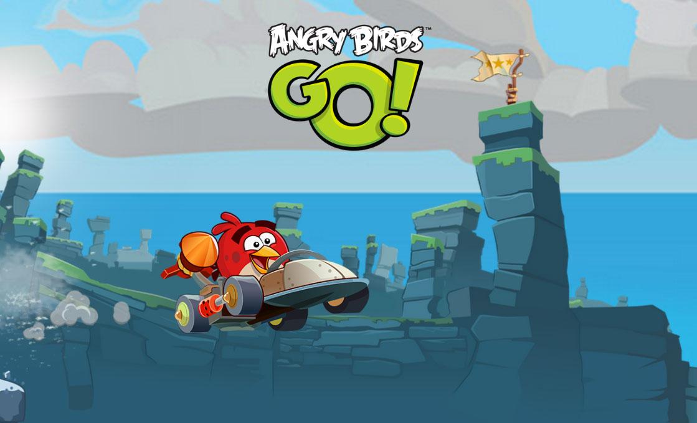 angry birds go Un nouveau jeu Angry Birds façon Mario Kart bientôt disponible [VIDEO]