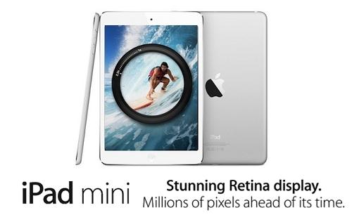apple ipad mini retina Un iMac 21.5 pour petit budget en 2014 ?
