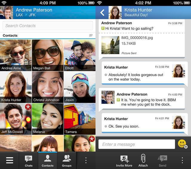 bbm BlackBerry annonce BBM disponible aujourdhui sur iOS avec réservation [MaJ]