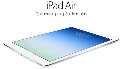 iPad Air 500x286 FIN DU CONCOURS : iPad Air