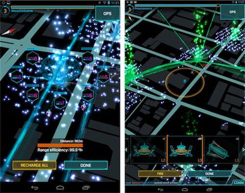 ingress ios Le jeu en réalité augmentée Ingress de Google, sur iOS en 2014