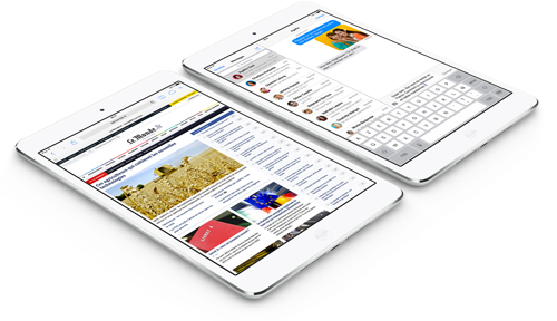 ipadmini1 CONCOURS : Gagnez un iPad Mini Retina