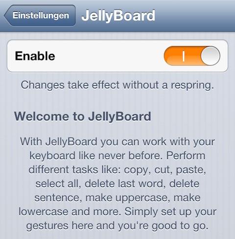 jellyboard1 Cydia : Le tweak JellyBoard est disponible