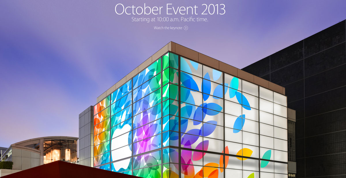 keynote ipad octobre Apple retransmettra le keynote en vidéo live
