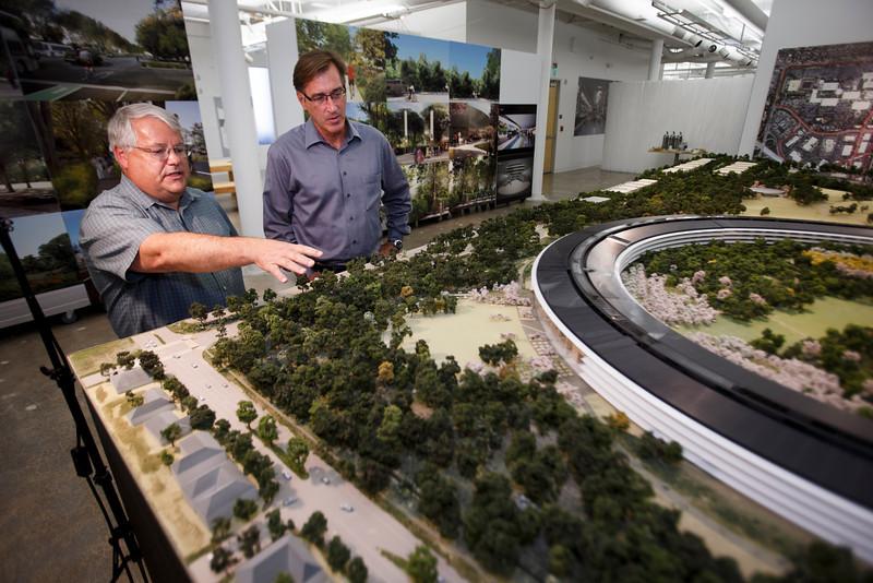 ssjm1013apple010 L Apple dévoile la maquette 3D de son futur campus