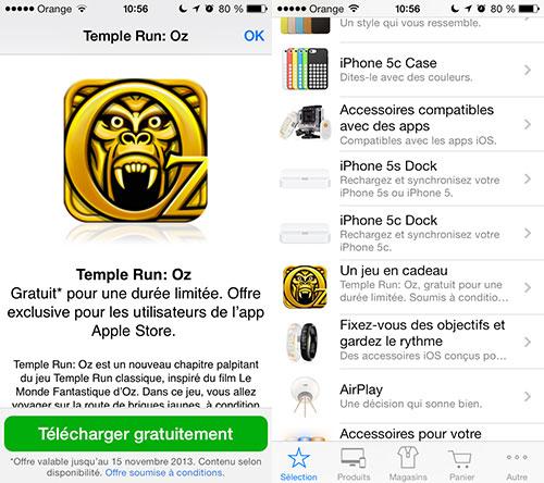 temple run oz Obtenez Temple Run OZ gratuitement depuis lapp Apple Store