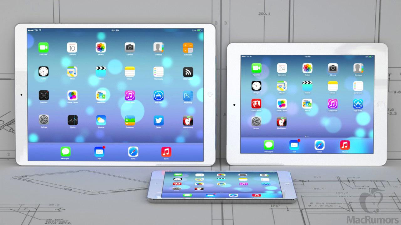 12 9 ipad ipad 4 mini light LiPad Pro de 12,9 pouces plutôt pour 2015 ?