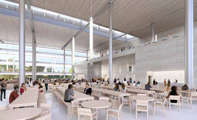 APPLREND7 Apple Campus 2 vu de lintérieur [VIDEO]