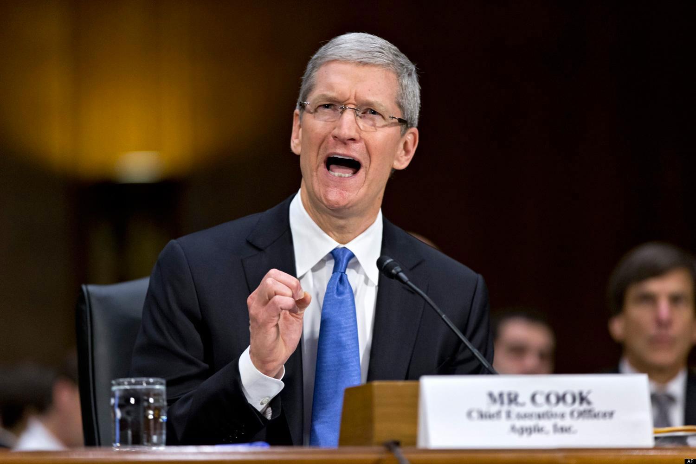 Tim Cook Apple hearing huffpost Tim Cook demande aux employés de ne plus dévoiler les futurs produits