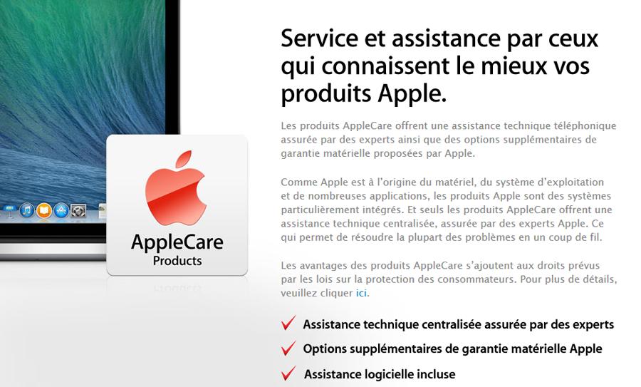 apple care Apple propose le partage décran pour le support technique