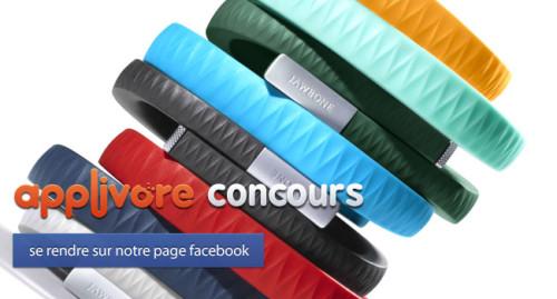 applivorecontest iph 1 500x269 FIN DE CONCOURS : Bracelet Jawbone UP