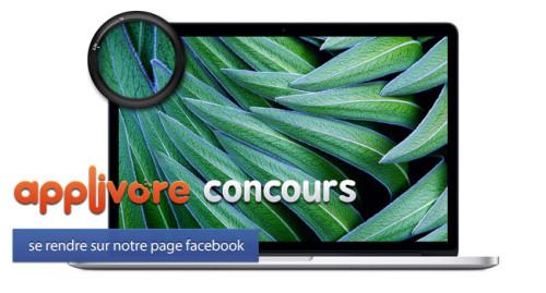 applivorecontest iph 21 500x269 CONCOURS : Gagnez un MacBook Pro Retina