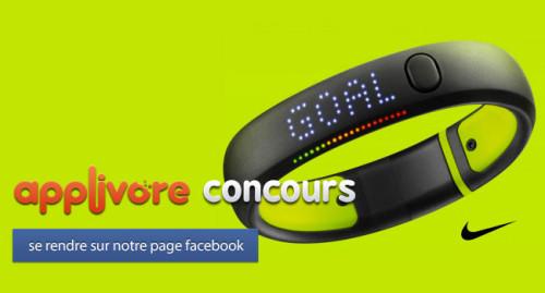 applivorecontest iph 500x269 CONCOURS : Gagnez un Bracelet Nike FuelBand