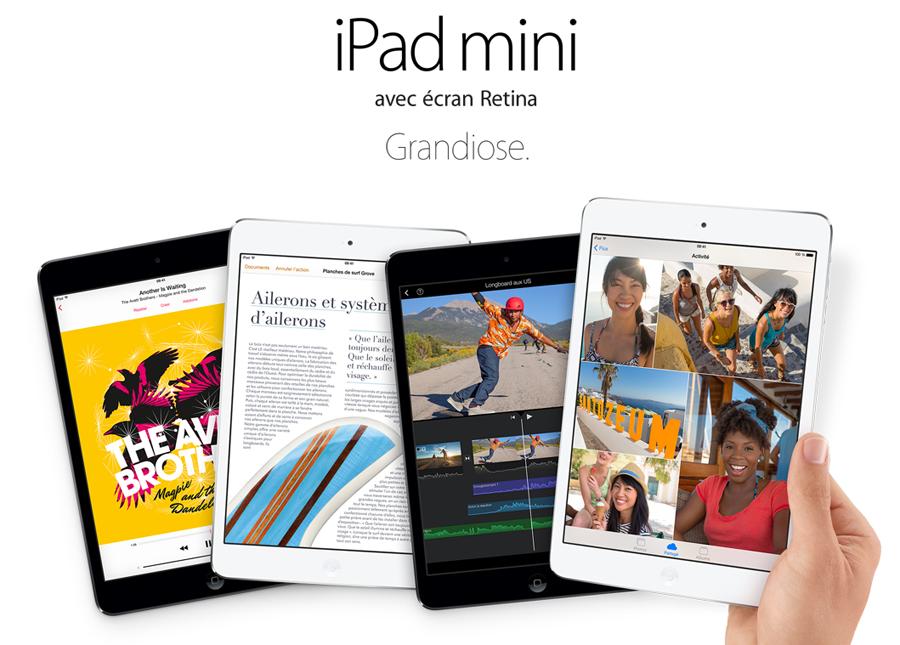 ipadminiretina Réservation obligatoire pour retirer son iPad mini Retina dans un Apple Store dès demain