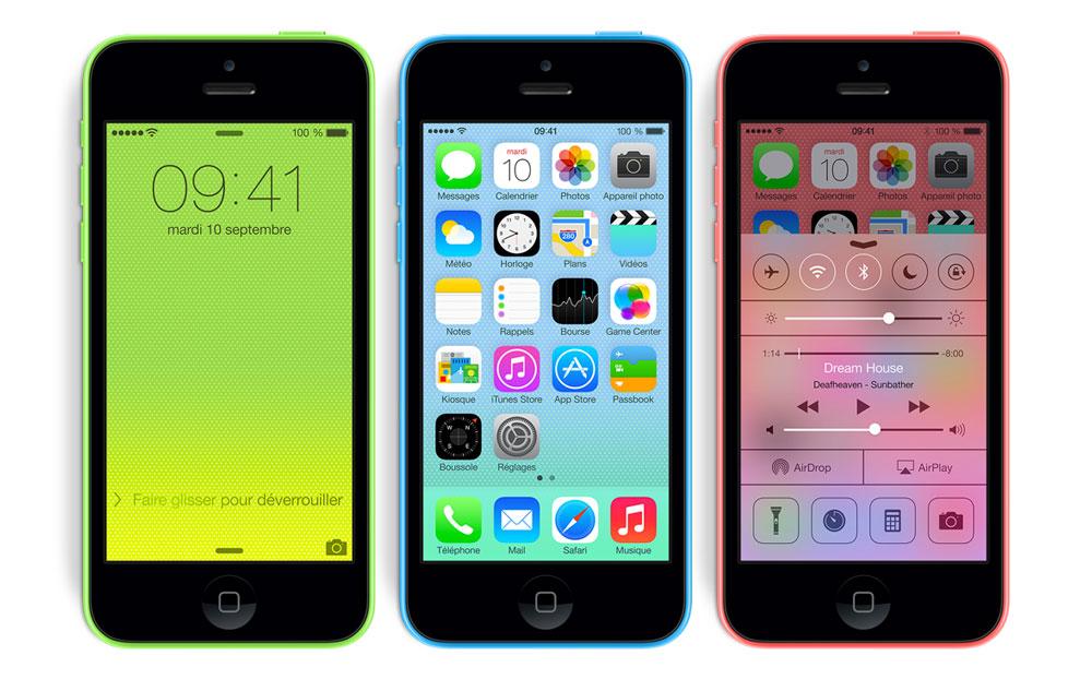 iphone 5C LiPhone 5C 8 Go est disponible en France