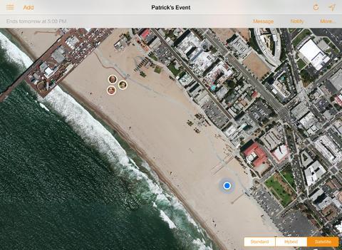 Lapplication Localiser mes amis se met à jour pour iOS 7