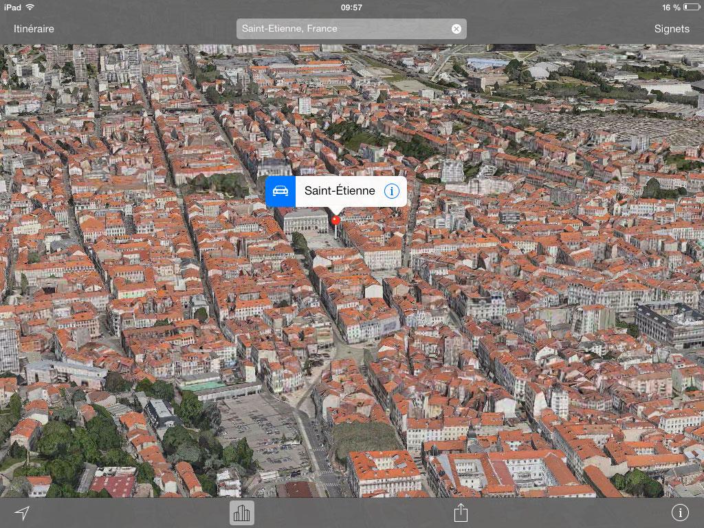 saint etienne france flyover Saint Étienne est désormais visible en FlyOver