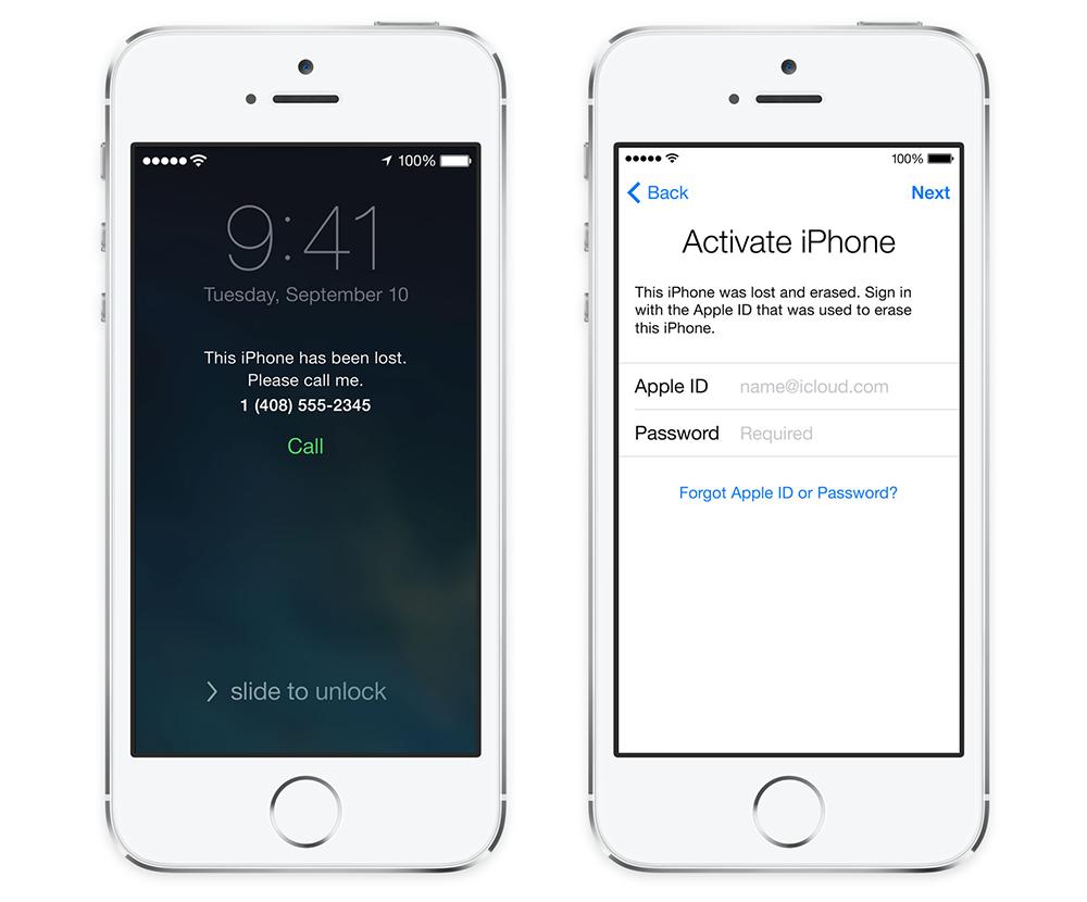 activation lock ios7 2 Vers une activation par défaut de Localiser mon iPhone ?