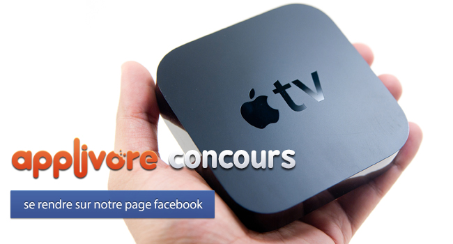 applivorecontest iph apple tv FIN DU CONCOURS : Apple TV