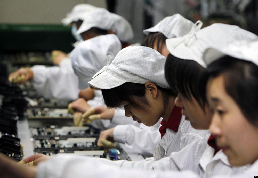 childlabor Foxconn embauche 100 000 personnes de plus pour liPhone 6
