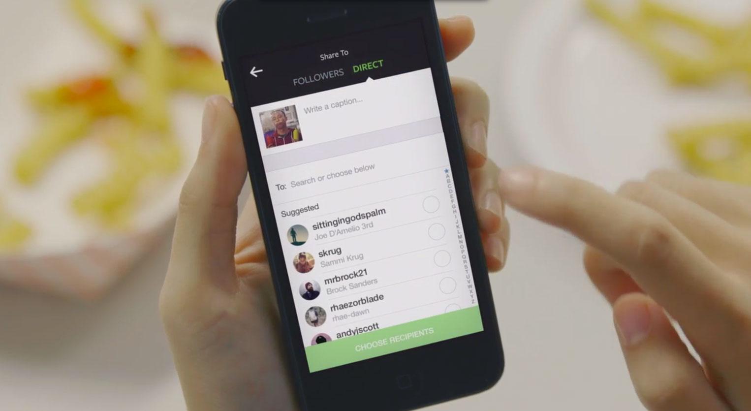 instagram direct Instagram annonce sa messagerie privée : Instagram Direct