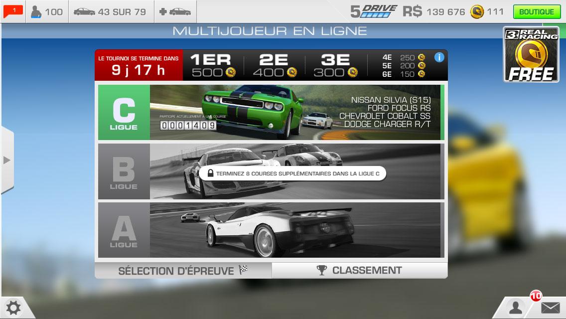 real racing 3 multijoueur Real Racing 3 introduit le mode Multijoueur en temps réel