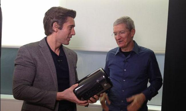 Cook Muir Tim Cook interviewé par ABC pour le 30ème anniversaire du Mac