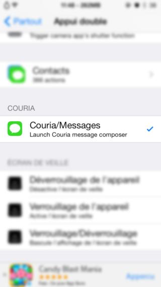 Couria 0 320x568 Cydia : Couria, QuickReply & QuickCompose pour lapplication Messages native