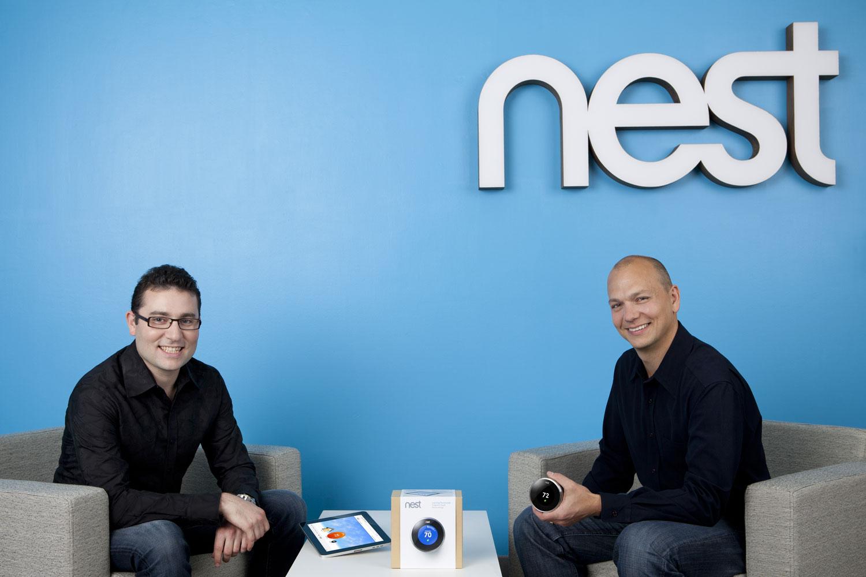 Matt Rogers and Tony Fadell Nest Google rachète Nest pour 3,2 milliards de dollars