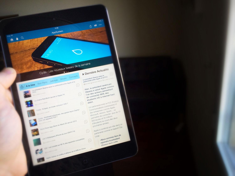 appsystem ipad Le saviez vous : AppSystem pour iPad est disponible !