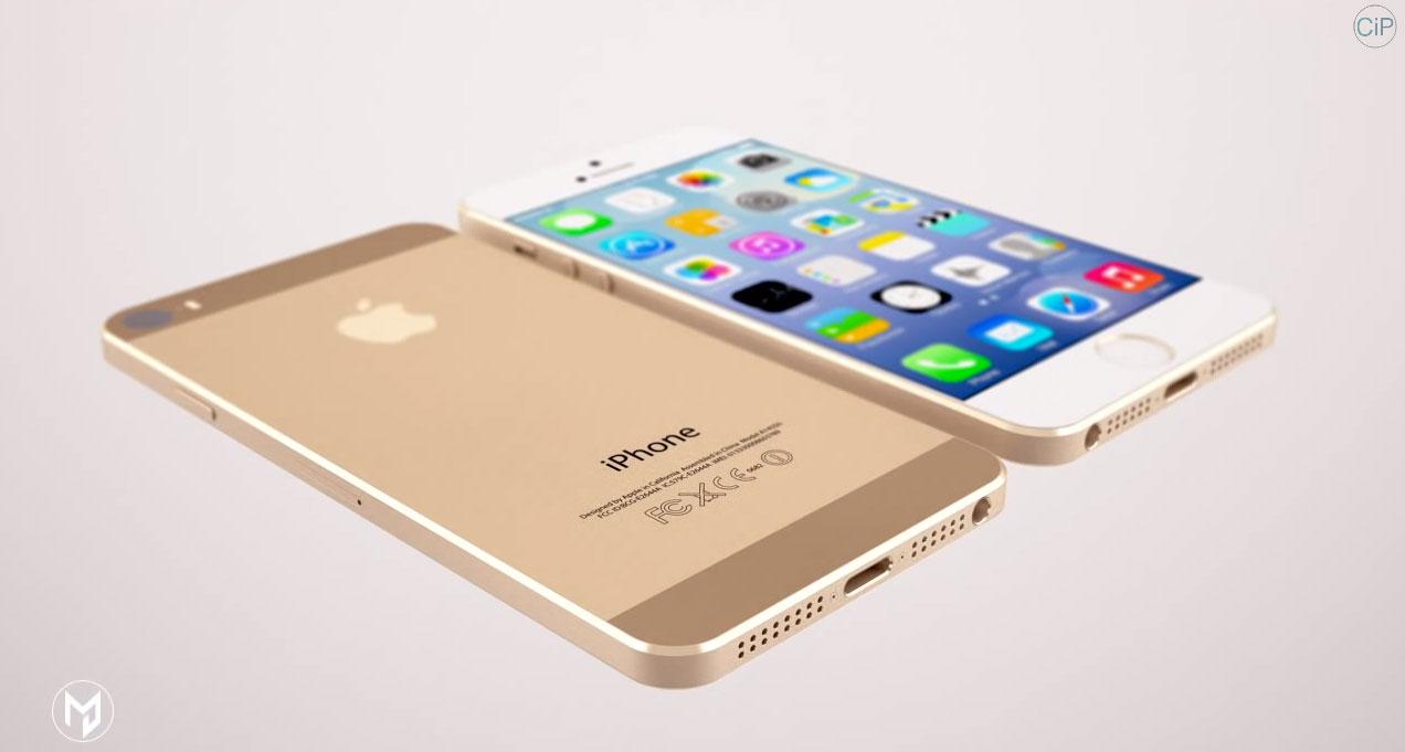 iphone 6 concept 01 Nouveau concept iPhone 6 avec un écran de 4,9 pouces [VIDEO]