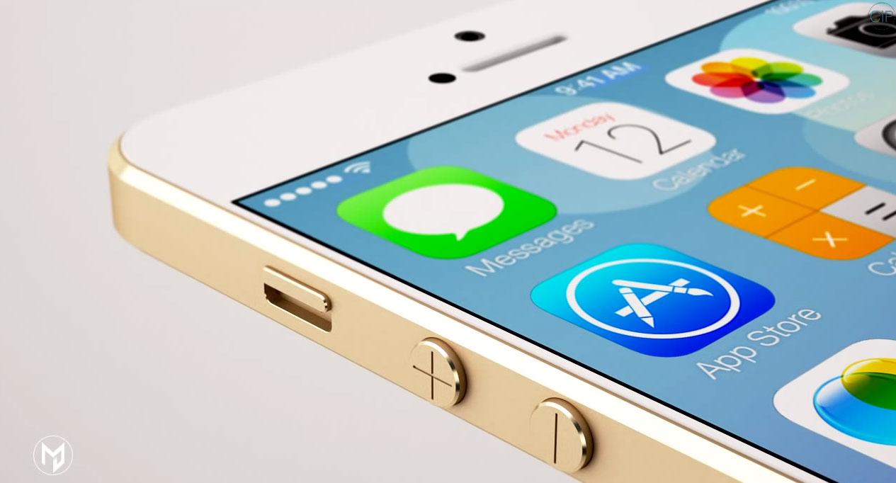 iphone 6 concept 02 Nouveau concept iPhone 6 avec un écran de 4,9 pouces [VIDEO]