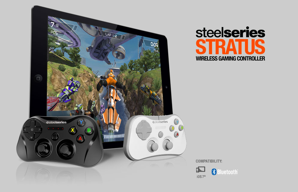 stratus steelseries SteelSeries annonce Stratus, la première manette MFi Bluetooth pour iPhone