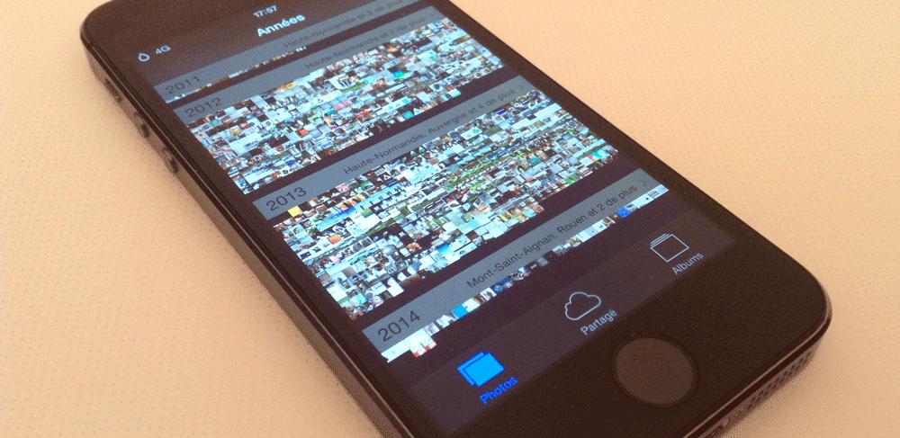 DarkPhotos Cydia : DarkPhotos habille lapplication photo de noir