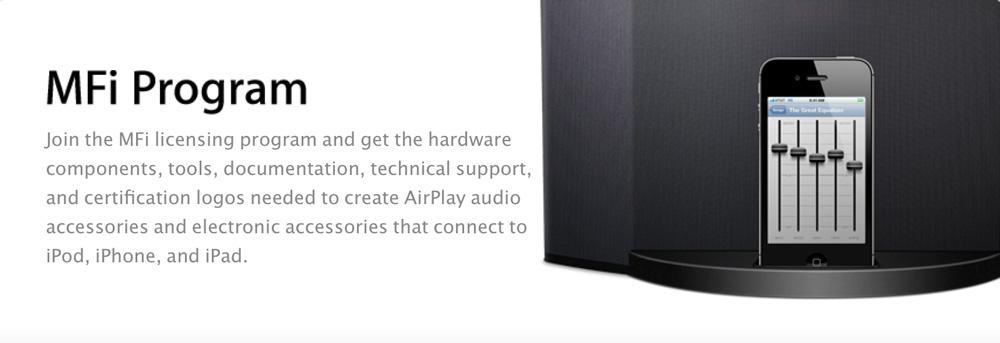 MFI Vers une baisse des prix des accessoires pour appareils Apple ?