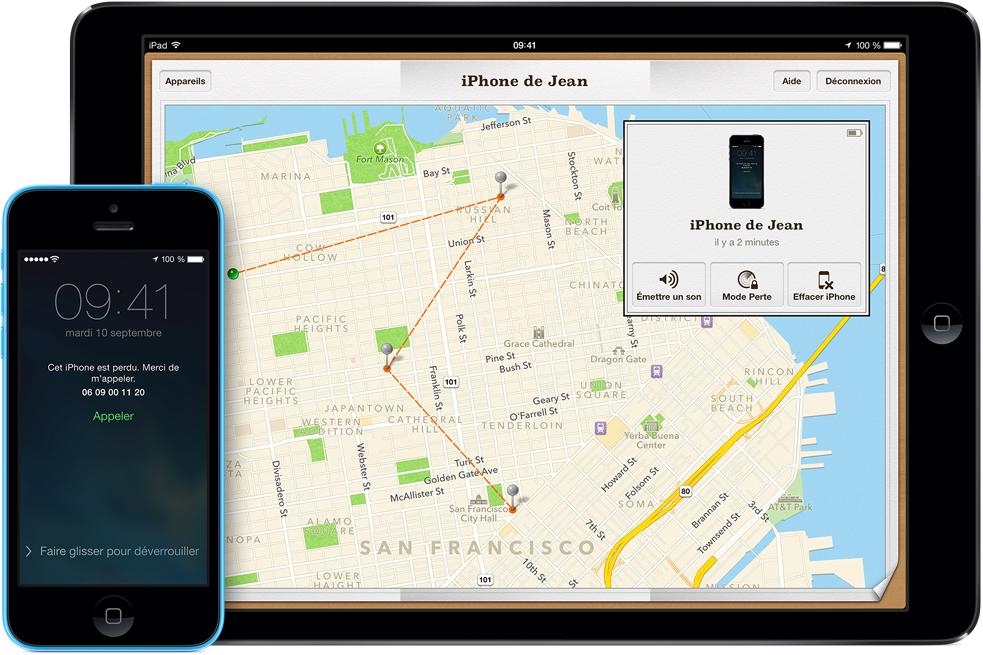find hero Un bug diOS 7 désactive Localiser mon iPhone sans mot de passe