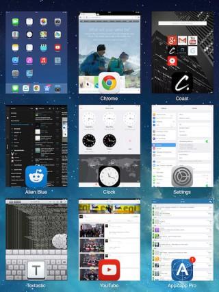 gridswitcher0 320x426 Cydia : GridSwitcher, personnalisez laffichage du multitâche