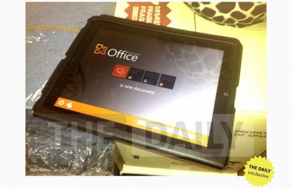 microsoft office ipad e1337789691173 Office pour iPad pour le premier semestre 2014 ?